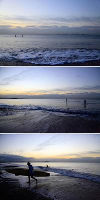 2020/01/10(FRI) 大潮の海辺で.........。 - SURF RESEARCH