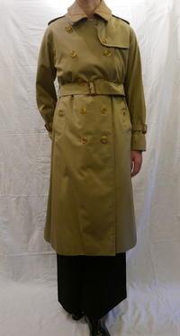 一枚袖 BURBERRY coat - carboots