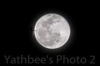 ~ 満月と旅客機 ~2020.1.11 - Yathbee's Photo 2