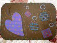 ☆小さなカードを作って楽しむ☆ - ガジャのねーさんの  空をみあげて☆ Hazle cucu ☆