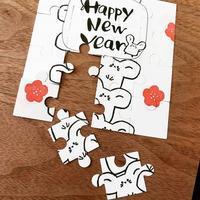 パズルでメッセージカード作り♪ - kedi*kedi