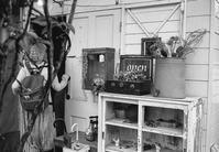 モノクロフィルムで撮りたくなる白いカフェ - Film&Gasoline