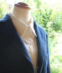 藍染のジャケットを 作ってみた。 - 刺繍や縫い物 生け花と庭仕事