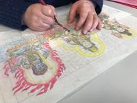 曼荼羅アートで、それぞれの想いが膨らむ。 - ライブ インテリジェンス アカデミー(LIA)