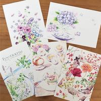 ポストカードアネモネと小さな花々他 - Kyoko Fukunaga Blog
