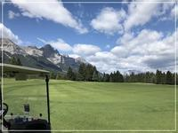 Golfing with friend's couple from Toronto - カナディアンロッキーで暮らす