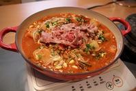寒い日に、キムチと納豆、お味噌でトリプル発酵鍋 - キムチ屋修行の道