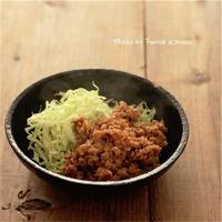 台湾風鶏そぼろ - ふみえ食堂  - a table to be full of happiness -