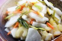 ■簡単5分でお漬物【半端野菜のカンタン酢漬け】爽やかレモン味です。 - 「料理と趣味の部屋」