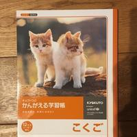 |子ども実例|突然の「国語ノートが終わった~」対策 - 岐阜・整理収納アドバイザーのブログ・おちつくおうち