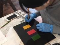 角萬漆器のワークショップ - 治華な那覇暮らし