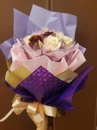 朋からバラの花束のプレゼント・・・それがとても不思議なバラなのでした♪ - メイフェの幸せ&美味しいいっぱい~in 台湾