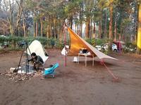 2020/1/11 ふたりソロキャンプ(千葉県千葉市 昭和の森フォレストビレッジ) - ユウジ の 徒然草