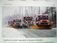 久しぶりの吹雪 - 2度目のリタイア後のライフ