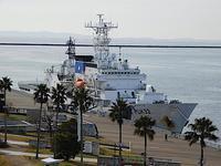 大寒!、大型巡視船「あきつしま」訓練 at 神戸港 - みなと神戸 のんびり風物詩