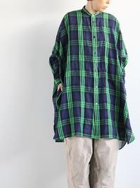 R&D.M.Co-BRITISH TARTAN DOLMAN SLEEVE SHIRT - 『Bumpkins putting on airs』