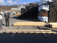 重ね梁の素材の選定 - 安曇野建築日誌
