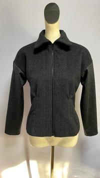 アンゴラウールとストレッチウールのジャケット - 私のドレスメイキング