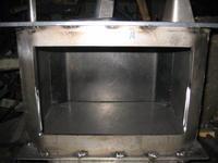 8角炭ストーブ - 金属造形工房のお仕事