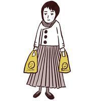 パンとカレーの日 - たなかきょおこ-旅する絵描きの絵日記/Kyoko Tanaka Illustrated Diary