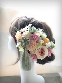 和装ウエディングの髪飾り - 花雑貨店 Breath Garden *kiko's  diary*