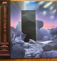 [日々雑感]1月22日MONDOから発売された『2001年宇宙の旅』のレコードが届いた。ジャケット&盤面のデザインは結構好き。 - Suzuki-Riの道楽