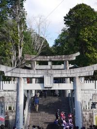 宮地嶽神社 - 三日おばさん