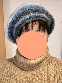 キラキラベレー帽 - とりどり日記     I love my life.