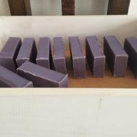 昨年末に仕込んだ『紫根のマルセイユ石鹸』 - tecoloてころのブログ