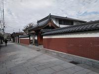 南部同窓会・街歩きの下見(尼崎城) - これから見る景色