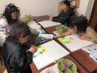 稲沢教室、児童コース、木曜日の様子。 - 大﨑造形絵画教室のブログ