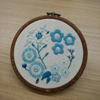 お楽しみお題&飾り枠☆ - 手刺繍屋 Eri-kari(エリカリ)