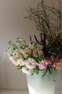 ブーケレッスン - mille fleur の花日記