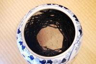 火を入れる前の藁灰 - 懐石椿亭(富山市)公式blog