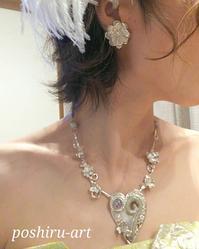 妹の結婚式 - 銀粘土と樹脂粘土と2匹のねこ