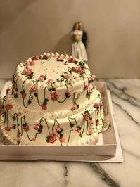 ウェディングケーキのレッスン - 福岡のフランス菓子教室  ガトー・ド・ミナコ  2