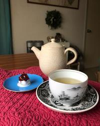 茶の香り - 花の窓