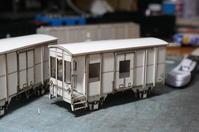 【鉄道模型・HO】秩父鉄道ワフ51を作る・2 - kazuの日々のエキサイトな企み!