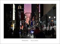 信号のない交差点 - Minnenfoto