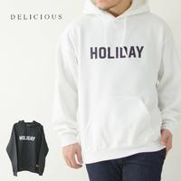 DELICIOUS [デリシャス] HOLIDAY Hoodie [HMS-004] ホリデイフーディー・フード・パーカー・MEN'S - refalt blog