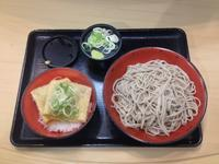 307杯目:富士そば中野店でミニ納豆つつみ丼セット - 富士そば原理主義
