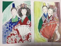 お雛様のハガキ絵 - ギャラリーとーちきの夢布布日記