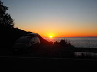 2020.01.01 道の駅大山で車中泊 - ジムニーとピカソ(カプチーノ、A4とスカルペル)で旅に出よう