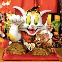 トムとジェリー・バスト、招き猫版、近日予約開始 - 下呂温泉 留之助商店 店主のブログ