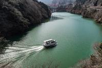 雪がない庄川峡 - toshi の ならはまほろば