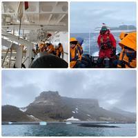南極クルーズ(47)南極5日目 〜 ペンギンだらけのブラウン・ブラフ - リタイア夫と空の旅、海の旅、二人旅