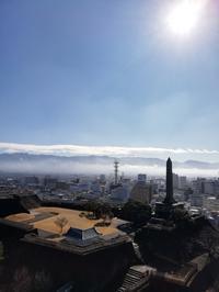 城のホテル最上階からの眺めと昇仙峡おすすめのオムニバスのご案内 - Hotel Naito ブログ 「いいじゃん♪ 山梨」
