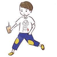 雨がち - たなかきょおこ-旅する絵描きの絵日記/Kyoko Tanaka Illustrated Diary