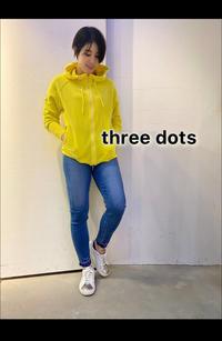 ロサンゼルス発「three dots (スリードッツ)」新作パイルパーカー入荷です。 - UNIQUE SECOND BLOG