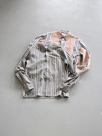 NOMA t.d.N Stripe Shirt - 『Bumpkins putting on airs』